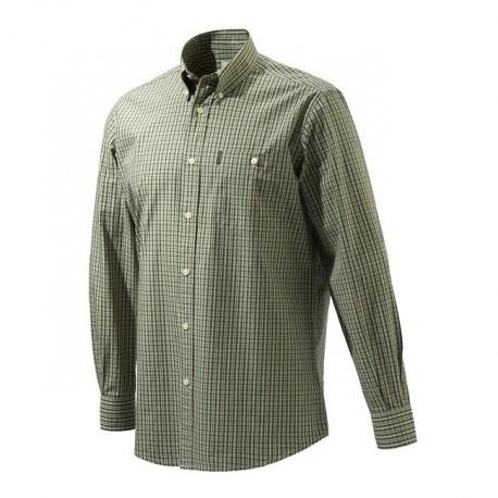 Koszula Beretta Drip Dry Green Check LU51