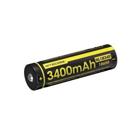 Akumulator Nitecore 18650 Micro USB NL1834R 3400mAh