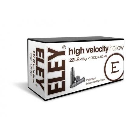 Amunicja ELEY HV hollow kal.22