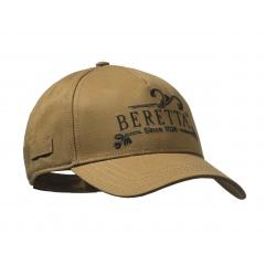 """Czapka Beretty """"Bertta Since 1526"""" BC591 - Brązowy"""