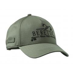 """Czapka Beretty """"Bertta Since 1526"""" BC591 - Zielony"""
