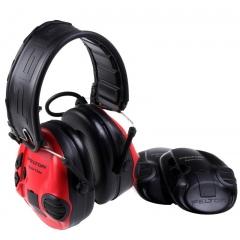 Aktywne ochronniki słuchu Peltor™ SportTac™  (CZARNY/CZERWONY)