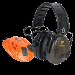 Aktywne ochronniki słuchu Peltor™ SportTac™ (ZIELONY/POMARAŃCZOWY)
