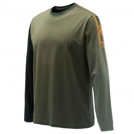 T-Shirt Beretta Victory Corporate TS352 Zielony
