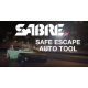 Gaz pieprzowy w żelu SABRE Red Safe Escape 3-in-1 Automotive Tool z wybijakiem do szyb i nożem do pasów SE-MT-01