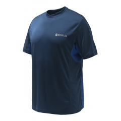 Flash Tech T Shirt  TS452 Blue Total Eclipse