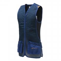 KAMIZ. STRZEL. BERETTA  GT073 DT11 Cotton Slide Vest Blue Navy