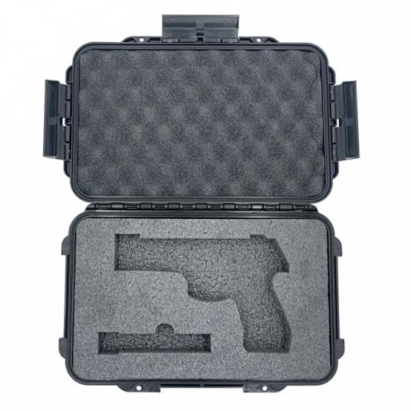 WALIZKA PANARO ETUI MAX003 GUN CZARNA PISTOLET + MAGAZYNEK CZARNA IP67