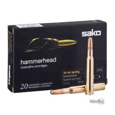 Amunicja SAKO Hammerhead 11.7G 30-06Sprg