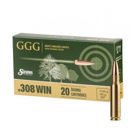 //308WIN NB.KULOWY GGG SBT GPX14 (165GRN) 10,7g (1009115)