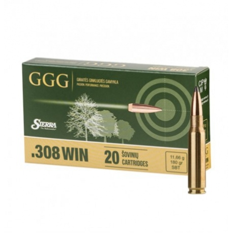 //308WIN NB.KULOWY GGG SBT GPX19 (180GRN) 11,66g  (1009119)