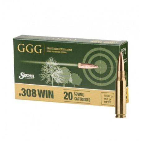 //308WIN NB.KULOWY GGG HPBT GPX13 (168GRN) 10,9g (1009114)