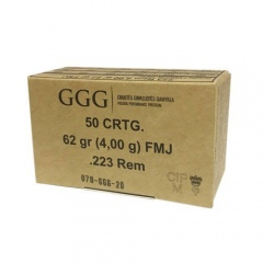 //223REM NB.KULOWY GGG FMJ GPR12 (62GRN) 4,0g   (1009175)