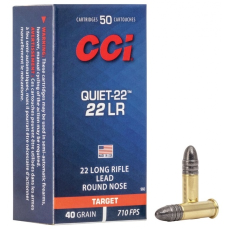 //22 LR NB.SPORTOWY QUIET-22 CCI  SUBSONIC 00960