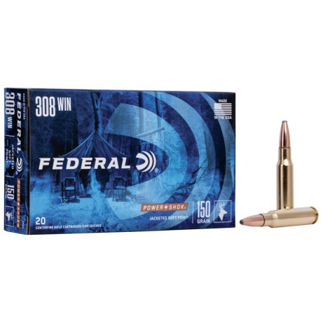 //308WIN NB.SP 150GRS(9,7G) FEDERAL/308A