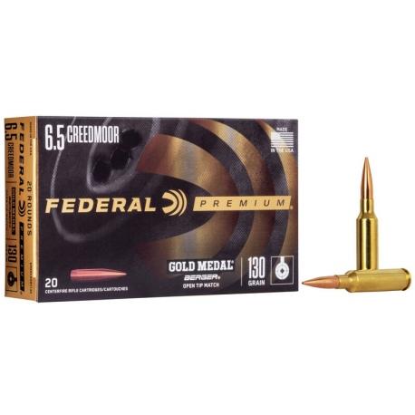 Amunicja Federal Berger Gold Medal 6,5 Creed 130GR