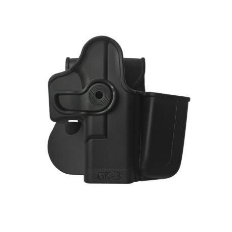 Kabura FAB Glock 19 GK-3 IMI-Z1023 Black