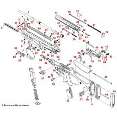 Część Beretta C5A524