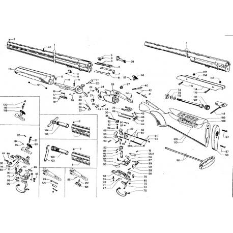 Eżektor Beretta 682 C52332