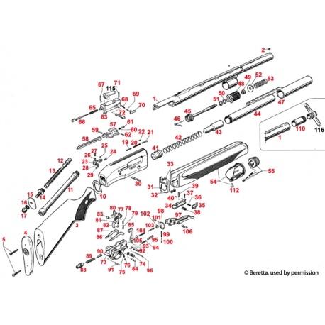 Część Beretta C81768