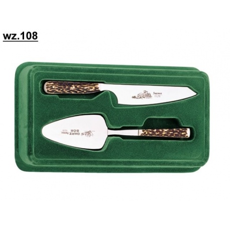 Komplet: Łopatka i nóż do tortu WZ 108 Kopromed