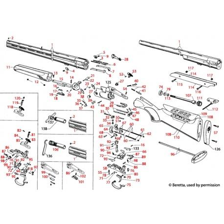Sprężyna Beretta S682 C90180