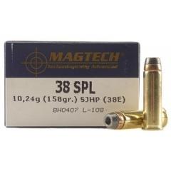 Amunicja Magtech .38 SJHP 38E