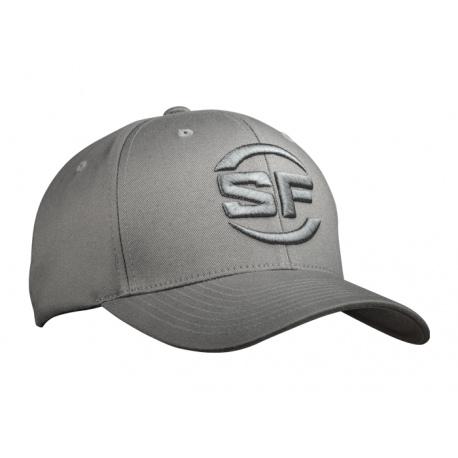 Czapka Surefire SF-Logo-Flexfit-Cap Szara