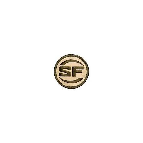 Naszywki Surefire SF-Logo-Patches piaskowa